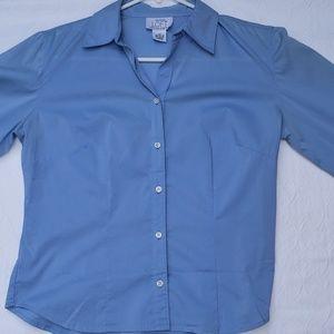 Women's 3/4 sleeve dress shirt